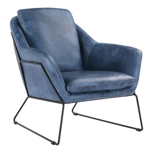 Moe's Home Collection - Greer Club Chair Blue