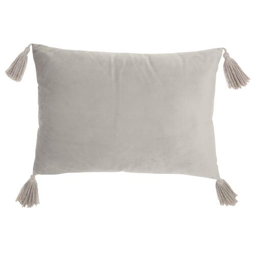 "Life Styles Et093 Lt Grey 14"" X 20"" Throw Pillow"