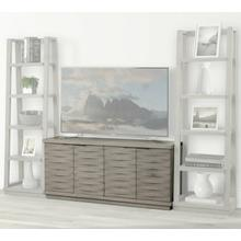 See Details - PURE MODERN 63 in. Angled Door TV Console