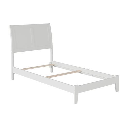 Atlantic Furniture - Portland Twin Bed in White