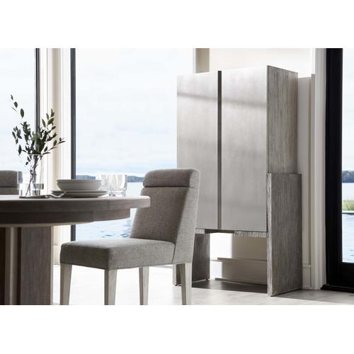 Bernhardt - Foundations Bar Cabinet in Light Shale (306)