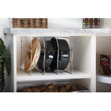 """Rev-A-Shelf - LD-597-18CR-1 - 18"""" Bakeware Organizer"""