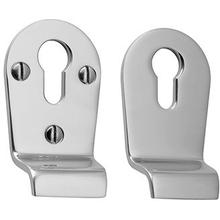 Chrome Plate Euro profile cylinder latch pull set