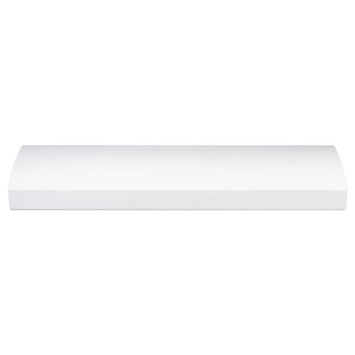 Broan® 30-Inch 4-Way Convertible Under-Cabinet Range Hood, 270 Max CFM, White