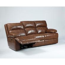 Timber and Tanning Reclining Sofa