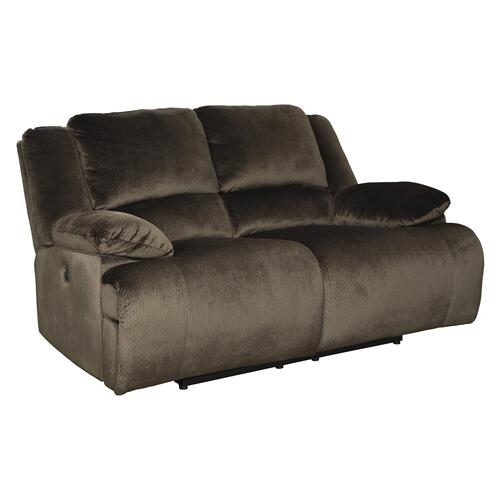 Clonmel - Chocolate Reclining Power Loveseat