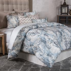 10pc King Comforter Set Smoke
