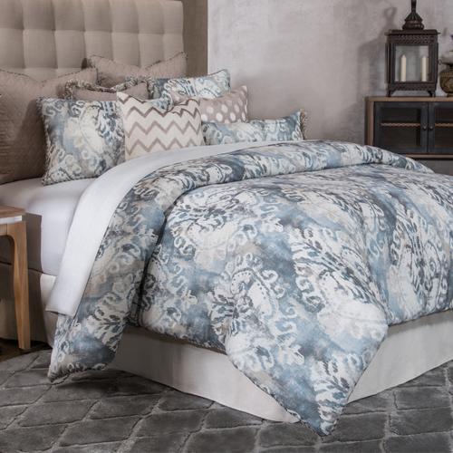 10pc King Comforter Set Smoke