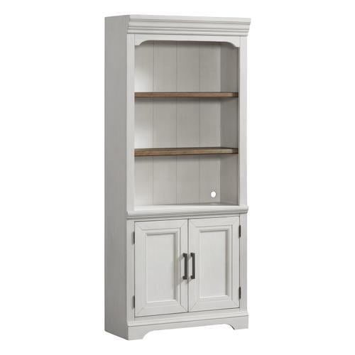 """Drake 76"""" Bunching Bookcase w/Door"""