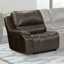 View Product - POTTER - WALNUT Power Left Arm Facing Recliner