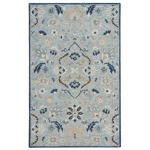 Avanti-Eleanor Ice Blue Hand Tufted Rugs