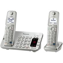 See Details - Link2Cell Bluetooth® Cordless Phone with Large Keypad - 2 Handsets - KX-TGE272S
