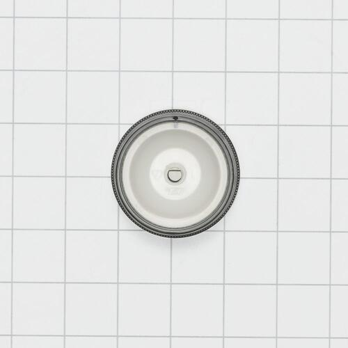 Front Load Washer or Dryer Timer Knob, White