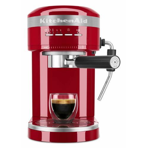 KitchenAid - Metal Semi-Automatic Espresso Machine - Empire Red