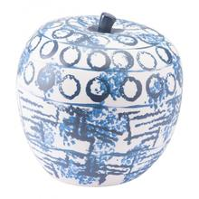 See Details - Ree Apple Blue & White