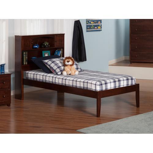 Atlantic Furniture - Newport Twin XL Open Foot Walnut