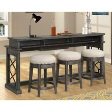 See Details - SUNDANCE - SMOKEY GREY Everywhere Console with 3 Stools