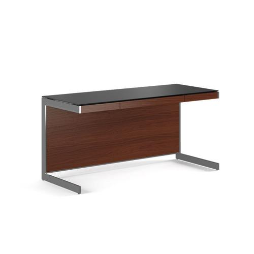 Desk 6001 in Chocolate Stained Walnut