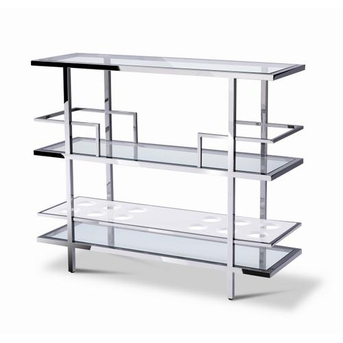VIG Furniture - Modrest Cunning - Modern Glass and Stainless Steel Wine Rack