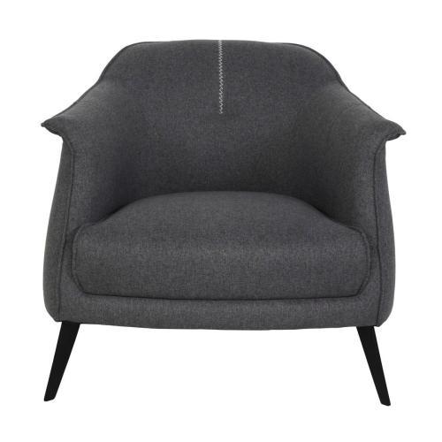 Martel Club Chair Dark Gray