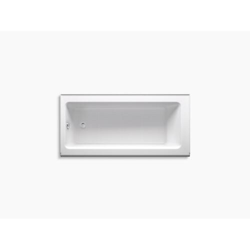 "Dune 66"" X 32"" Alcove Bath With Integral Apron and Left-hand Drain"