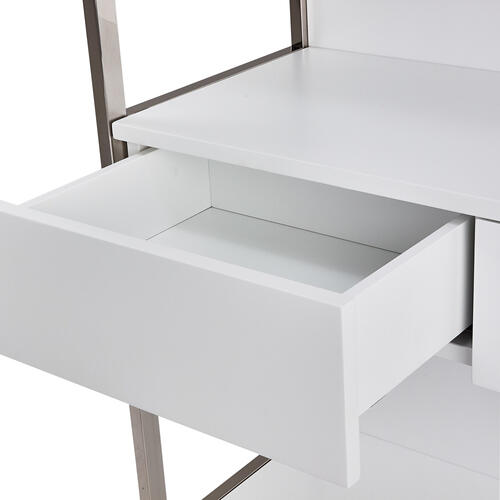 Bookshelf W/drawers (2 Pc)