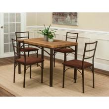 Amigo 5pc Dining Set