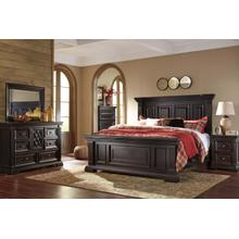 View Product - Willenburg - Dark Brown 3 Piece Bed Set (King)