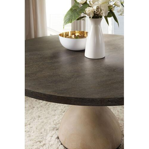 Dining Room Miramar Point Reyes Botticelli 60in Round Dining Table