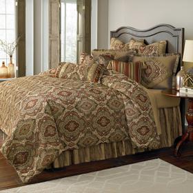 13 pc King Comforter Set Lichen