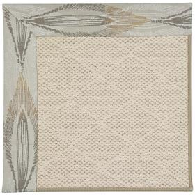 Creative Concepts-White Wicker Empress Grain Machine Tufted Rugs