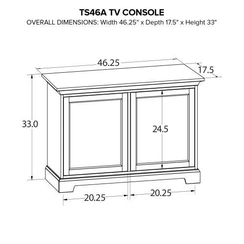 TS46A Custom TV Console