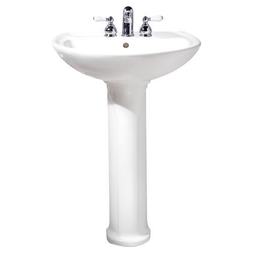 Cadet 24-inch Pedestal Sink - Linen