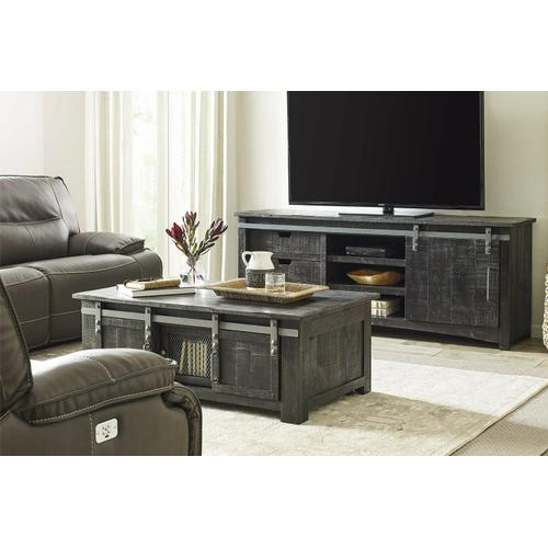 Parker House - DURANGO 76 in. Console with Sliding Door