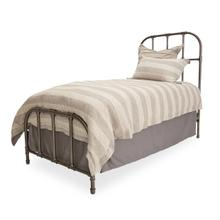 Twin Metal Bed (2 Pc)