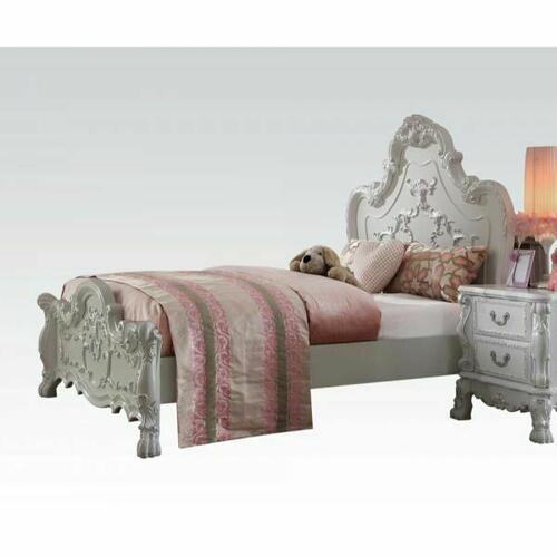 ACME Dresden Queen Bed - 30660Q - Antique White