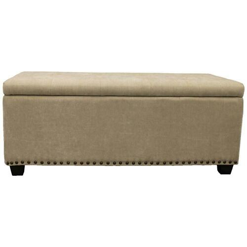 CHLOE - MERINGUE Storage Bench