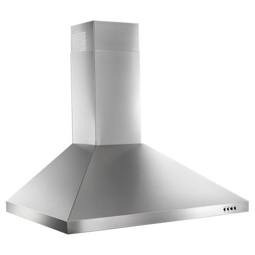 """Whirlpool - 30"""" Contemporary Stainless Steel Wall Mount Range Hood"""