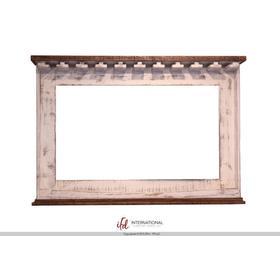 See Details - Mirror Bar w/Glass holders & Shelf for wine bottle