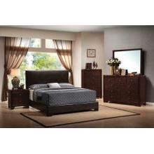 Conner Casual Dark Brown California King Five-piece Set