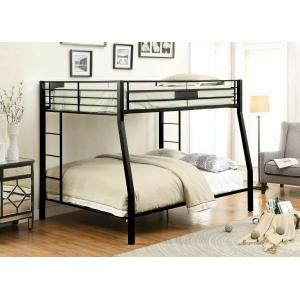 ACME Limbra Full XL/Queen Bunk Bed - 38005 - Sandy Black