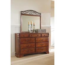See Details - Bedroom Dresser & Mirror