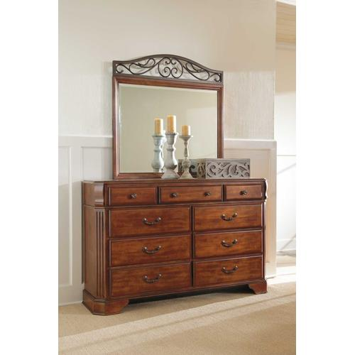 Bedroom Dresser & Mirror