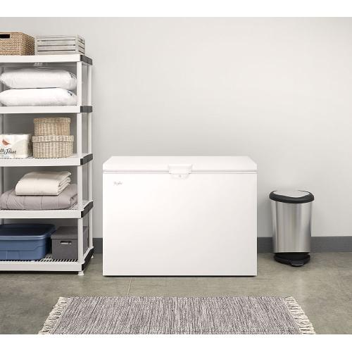 Whirlpool - 15 cu. ft. Chest Freezer with Large Storage Baskets