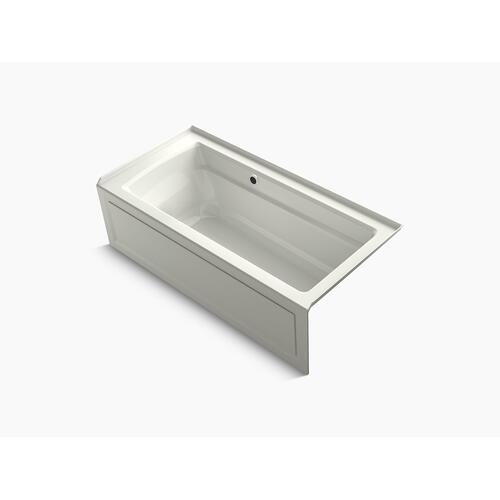 "Dune 66"" X 32"" Alcove Bath With Bask Heated Surface, Integral Apron, Integral Flange, and Right-hand Drain"