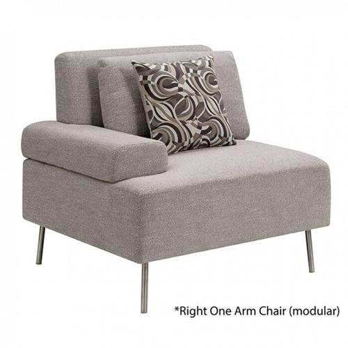 Furniture of America - Bryn Right One Arm Chair