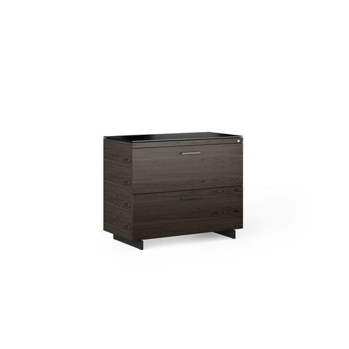 BDI Furniture - Sequel 20 6116 Lateral File Cabinet in Charcoal Black