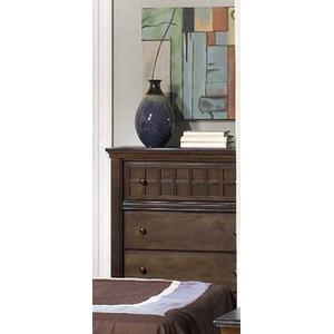 Progressive Furniture - Chest - Walnut Finish