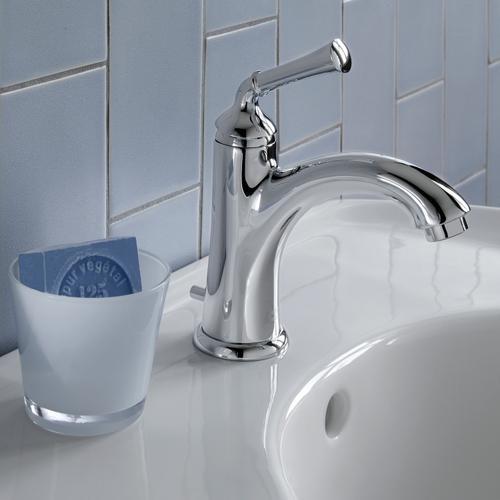 American Standard - Portsmouth 1-Handle Monoblock Bathroom Faucet  American Standard - Polished Chrome