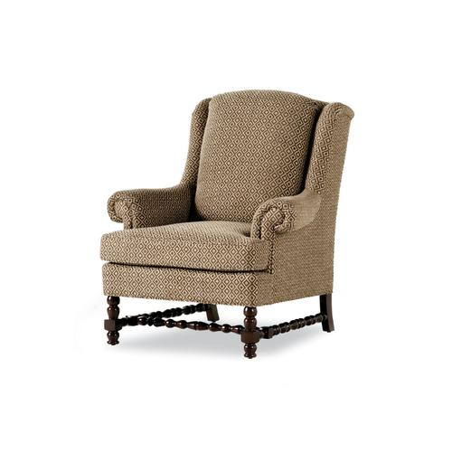 632-P RONSON PILLOWBACK WING CHAIR